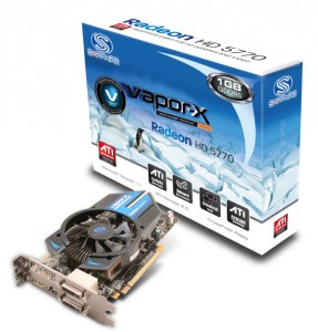 Sapphire HD 5750 Vapor X Graphics Card
